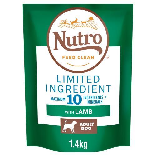 Nutro Limited Ingredient Lamb Medium Adult Dry Dog Food