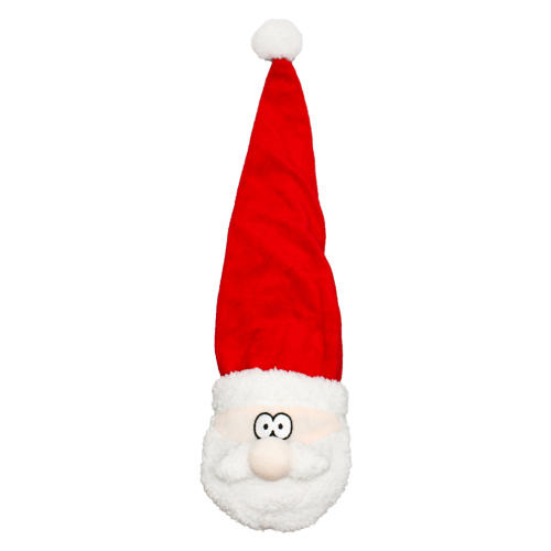 Happy Pet Big Hat Santa Christmas Dog Toy