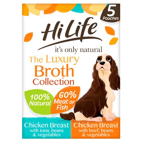HiLife Its Only Natural Luxury Broth Collection Wet Dog Food