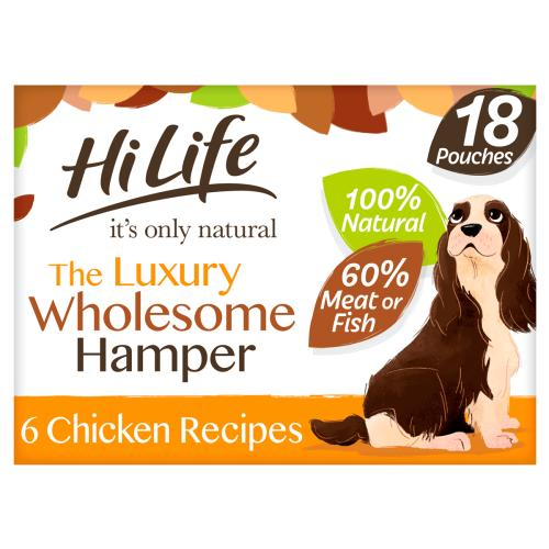 HiLife Its Only Natural Luxury Wholesome Hamper Wet Dog Food