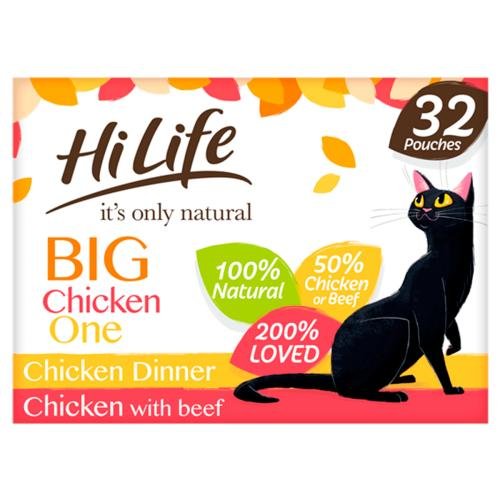 HiLife Its Only Natural Chicken Selection in Jelly Adult Cat Food