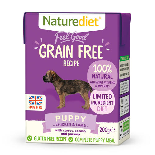 Naturediet Feel Good Grain Free Puppy Wet Dog Food Cartons