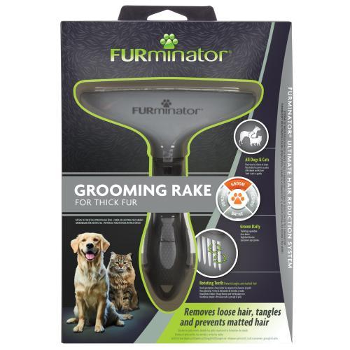 Furminator Grooming Rake for Cats & Dogs