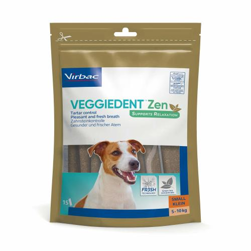Virbac VeggieDent Zen Dental & Calming Dog Chews
