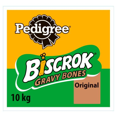 Pedigree Biscrok Gravy Bones Biscuit Adult Dog Treat