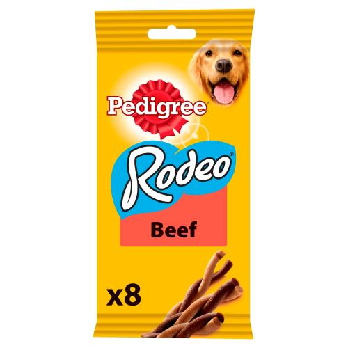 Pedigree Rodeo Beef Chew Adult Dog Treats