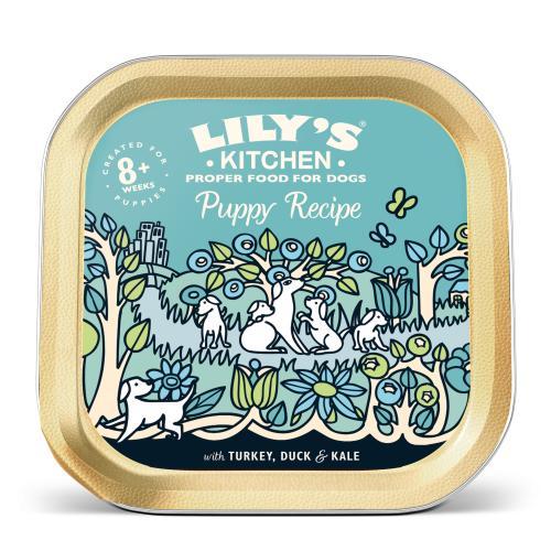 Lilys Kitchen Turkey & Duck Recipe for Puppies