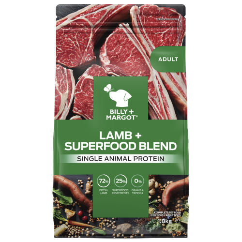 Billy & Margot Lamb & Superfood Dry Adult Dog Food