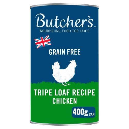 Butchers Tripe & Chicken Dog Food Tins