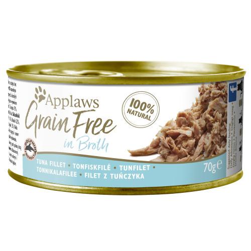Applaws Tuna Fillet in Broth Grain Free Wet Adult Cat Food