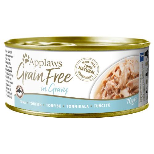 Applaws Tuna in Gravy Grain Free Wet Adult Cat Food