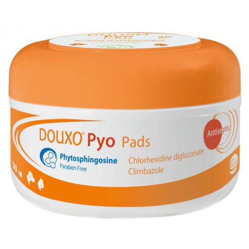 Douxo Pyo Pads Dog & Cat Skin Wipes
