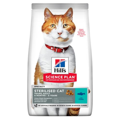 Hills Science Plan Young Tuna Adult Sterilised Dry Cat Food