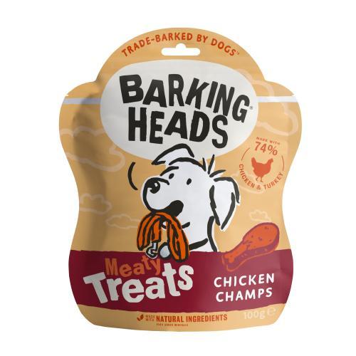 Barking Heads Meaty Treats Chicken Champs Adult Dog Treats