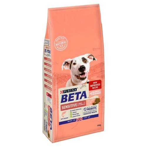 BETA Salmon & Rice Sensitive Adult Dog Food