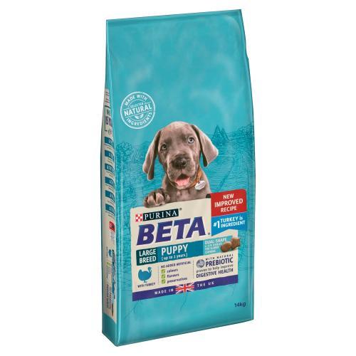 BETA Turkey Large Breed Dry Puppy Food
