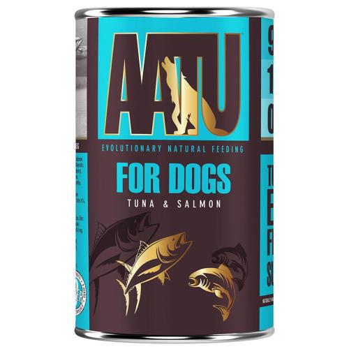 AATU Tuna & Salmon Wet Dog Food
