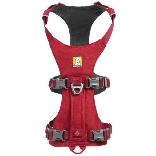 Ruffwear Flagline Dog Harness in Red Rock