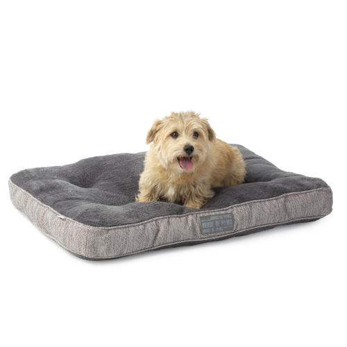 House of Paws Hessian Rectangular Dog Bed
