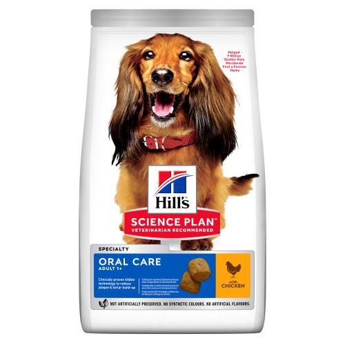 Hills Science Plan Adult Oral Care Medium Dry Dog Food Chicken