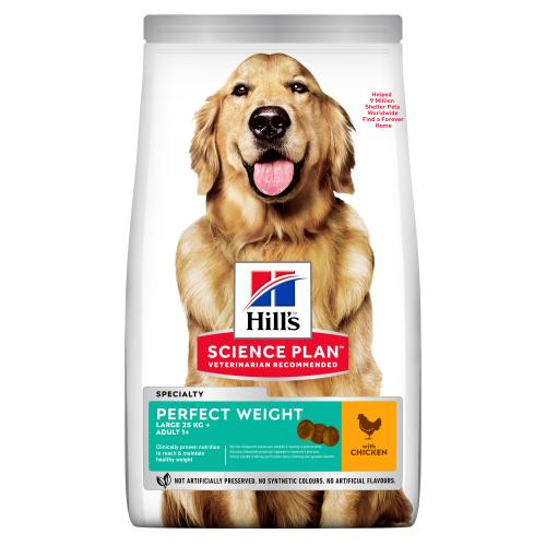 Hills Science Plan Adult Perfect Weight Large Breed Dry Dog Food Chicken