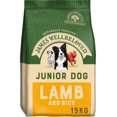 James Wellbeloved Lamb & Rice Junior Dog Food