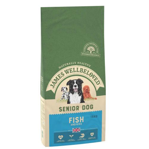 James Wellbeloved Fish & Rice Senior Dog Food