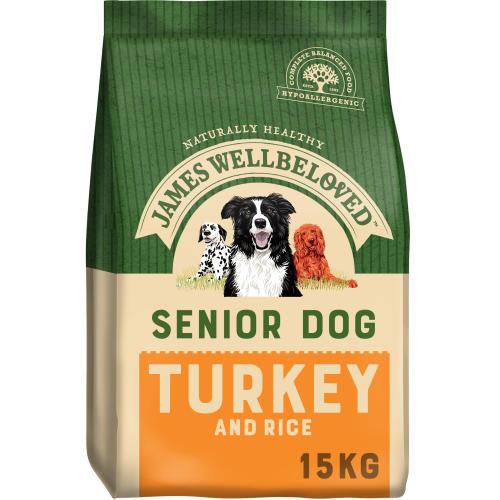James Wellbeloved Turkey & Rice Senior Dog Food