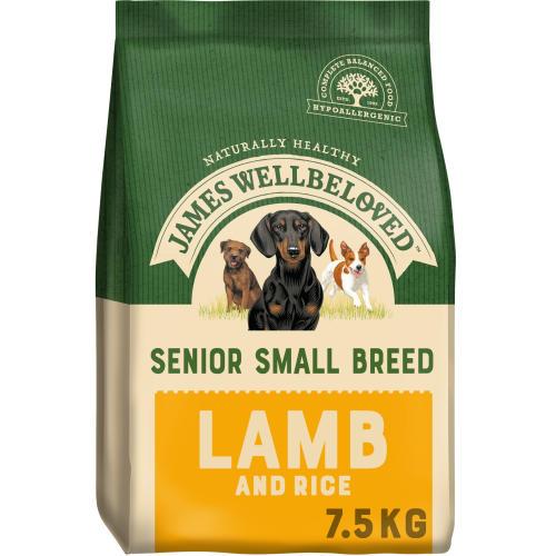 James Wellbeloved Small Breed Lamb & Rice Senior Dog Food
