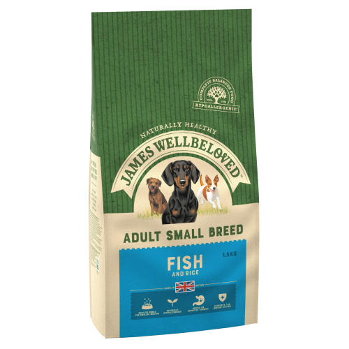 James Wellbeloved Ocean Fish & Rice Adult Small Dog Food