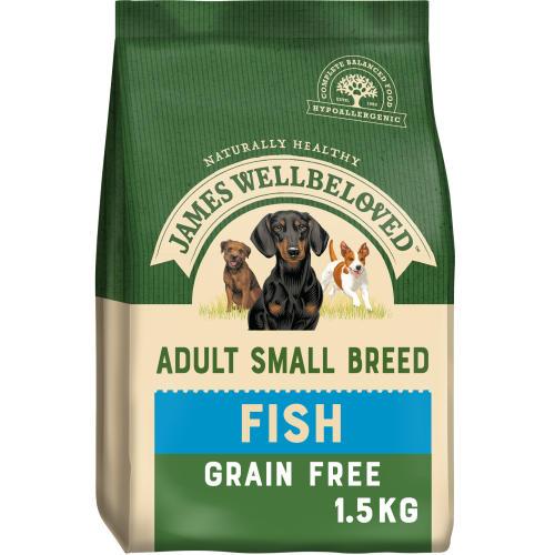 James Wellbeloved Grain Free Fish & Vegetable Small Breed Adult Dog Food