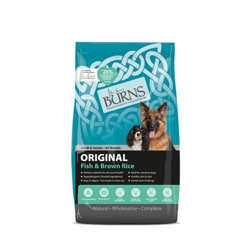 Burns Original Fish & Brown Rice Adult & Senior Dog Food
