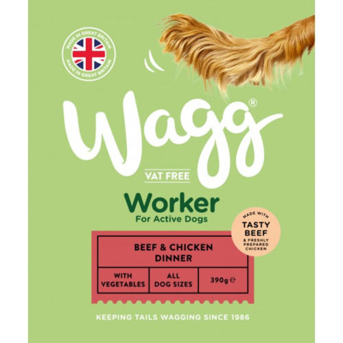 Wagg Worker Beef & Chicken Wet Dog Food