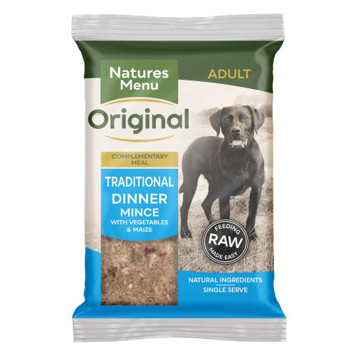 Natures Menu Traditional Raw Frozen Mince Adult Dog Food