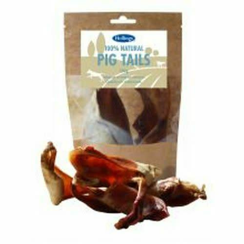 Hollings 100% Natural Pig Tails Dog Treats