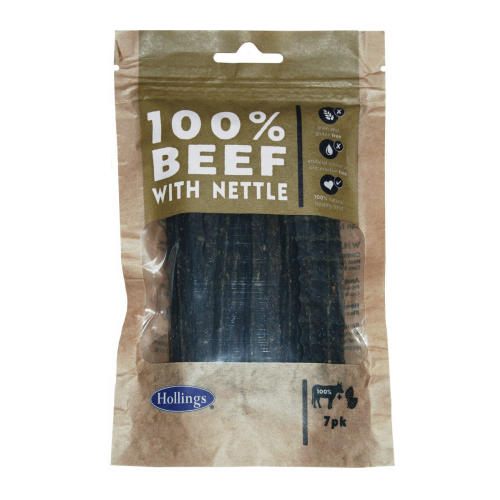 Hollings 100% Beef & Nettle Bar Dog Treats