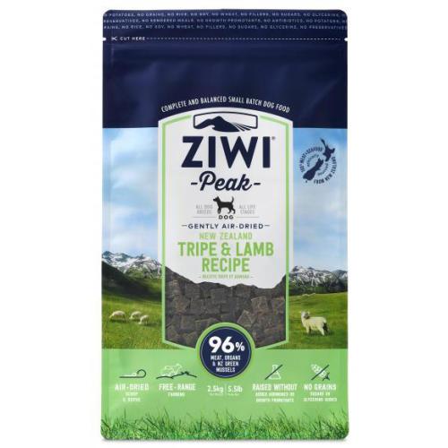 ZiwiPeak New Zealand Tripe & Lamb Dry Dog Food