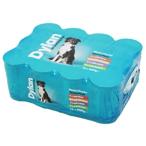 Dylan Working Dog Variety Wet Dog Food Tins
