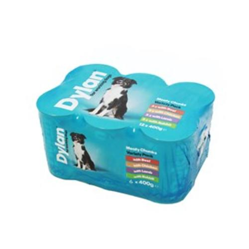 Dylan Working Dog Variety Pack Wet Dog Food Tins