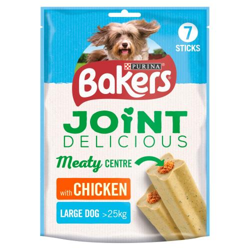 Bakers Joint Delicious Chicken Large Dog Treats