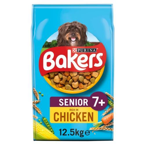 Bakers Chicken & Veg Senior Dog Food