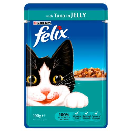 Felix Tuna in Jelly Pouch Cat Food