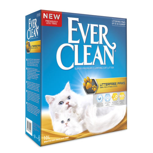 Ever Clean Litter Free Paws Cat Litter
