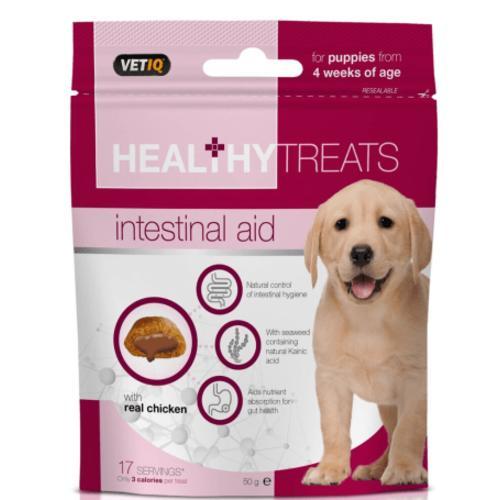 Mark & Chappell VetIQ Intestinal Aid Healthy Treats for Puppies
