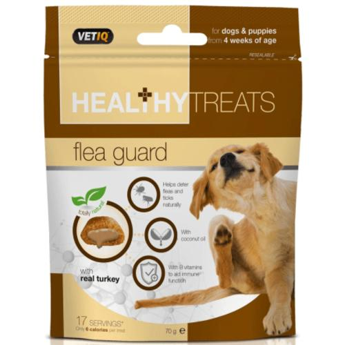 Mark & Chappell VetIQ Flea Guard Healthy Treats for Dogs & Puppies