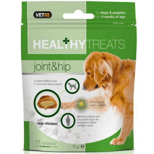 Mark & Chappell VetIQ Joint Care Healthy Treats for Dogs & Puppies