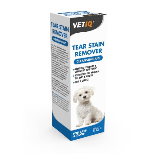 Mark & Chappell VetIQ Tear Stain remover for Cats & Dogs