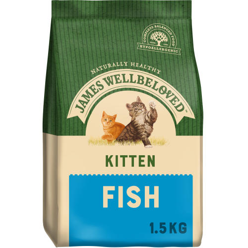 James Wellbeloved Fish Kitten Food