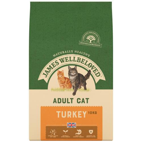 James Wellbeloved Adult Turkey Cat Food