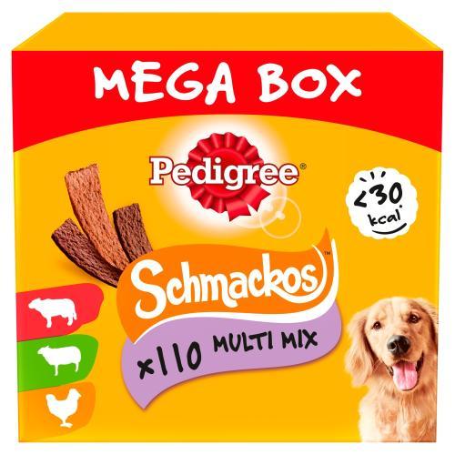Pedigree Schmackos Meaty Variety Mega Box Dog Treats